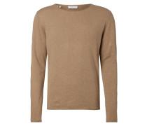 Pullover aus Baumwoll-Seide-Mix