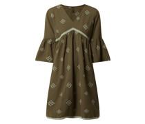 Kleid aus Baumwoll-Leinen-Mix Modell 'Frilanka'