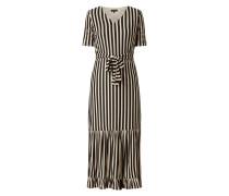 Kleid mit Streifenmuster Modell 'Sabine'