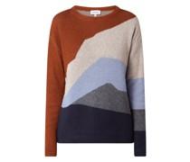Pullover aus Bio-Baumwolle und Bio-Wolle Modell 'Meylaa'