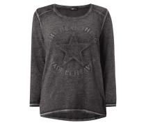 PLUS SIZE - Sweatshirt mit Stickereien