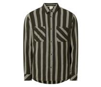 Regular Fit Freizeithemd aus Baumwolle Modell 'Anton'