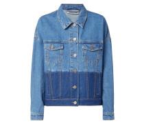 Jeansjacke mit Schattierungen
