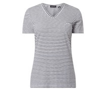 T-Shirt mit Lyocell-Anteil