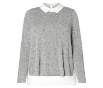 PLUS SIZE - Pullover im 2-in-1-Look