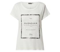 T-Shirt mit Print Modell 'Charlize'
