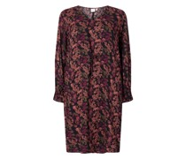 PLUS SIZE Kleid mit floralem Muster Modell 'Haldis'
