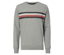 Vintage Fit Sweatshirt mit Logo-Stickerei