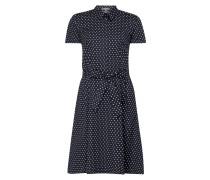 Blusenkleid mit Polka Dots