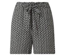 Shorts aus Viskose Modell 'Freia'