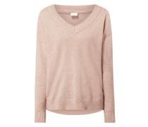 Pullover mit überschnittenen Schultern Modell 'Viril'