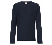 Pullover aus Slub Knit mit gerollten Abschlüssen