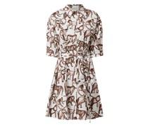 Kleid aus Baumwolle Modell 'Opus'