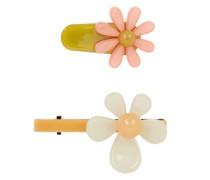 Haarklammer mit Blüten-Applikation im 2er-Pack Modell 'Candis'