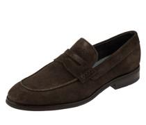 Loafer aus Veloursleder Modell 'Velluto'