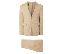"Slim Fit Anzug mit Stretch-Anteil Modell 'Henry2/Barlow1"""