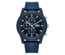 Chronograph mit Armband aus Silikon