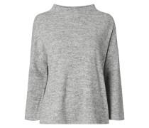 Pullover in Melangeoptik