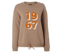 Sweatshirt in Strickoptik