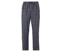 Pyjamahose mit Tartanmuster