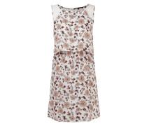 Kleid im Rock-Top-Look mit floraler Spitze