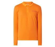 Poloshirt mit langen Ärmeln Modell 'Erial'