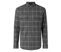 Regular Fit Hemdjacke mit leichter Wattierung