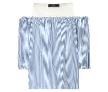 Cold Shoulder Blusenshirt mit Raffungen
