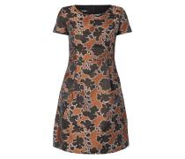 Kleid mit floralem Allover-Muster