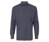 Comfort Fit Hemd mit feiner Musterung