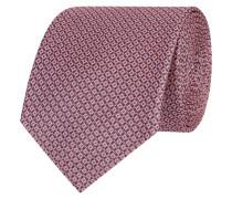 Krawatte mit strukturiertem Muster