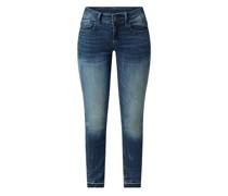 Skinny Fit Jeans mit Stretch-Anteil Modell 'Lynn'