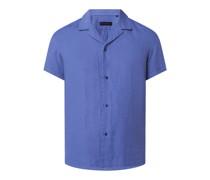 Slim Fit Leinenhemd Modell 'Bijan'