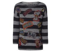 Pullover mit eingestrickten Peanuts©-Motiven