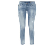 Super Slim-Skinny Fit Bleached Jeans