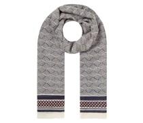Schal aus Woll-Seide-Mix