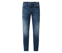Slim Fit Jeans mit Stretch-Anteil Modell 'Rocko'