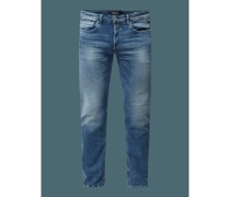 Regular Fit Jeans mit Stretch-Anteil Modell 'Grover'