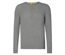Slim Fit Pullover aus reiner Baumwolle