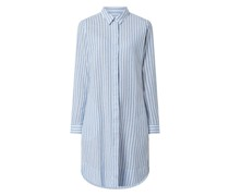 Blusenkleid aus Leinen-Baumwoll-Mix Modell 'Gracia'
