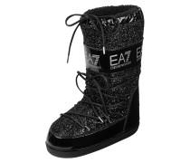 Moon-Boots mit Glitter-Effekt