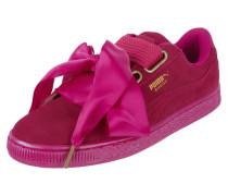 Sneaker 'Basket Heart' aus Veloursleder
