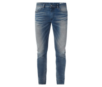 Used Look Slim-Skinny Jeans