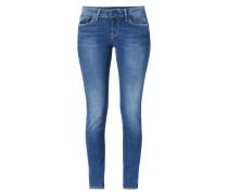 Stone Washed Regular Fit 5-Pocket-Jeans