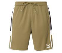 Shorts mit seitlichen Kontraststreifen