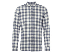 Modern Fit Flanellhemd mit Karomuster