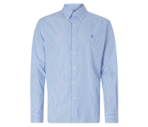 Regular Fit Hemd mit Streifen-Dessin
