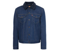The Sherpa Trucker Jacket Indigo Sheep
