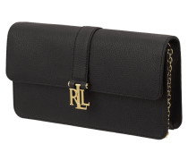 Pochette mit Logo-Applikation