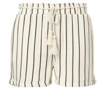 Shorts mit Streifenmuster und Kordel zum Binden